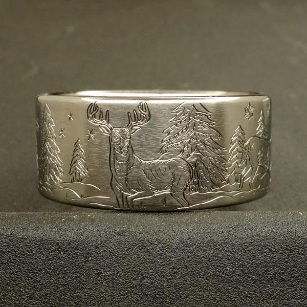 white tail deer ring #winter 2.jpg